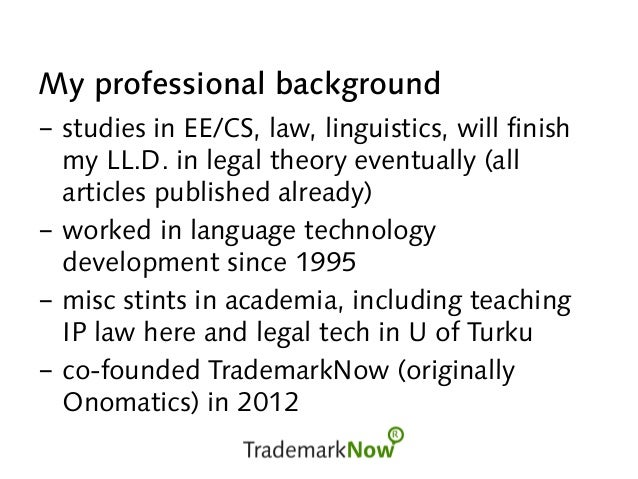 Modeling meaning and knowledge: legal knowledge Slide 2