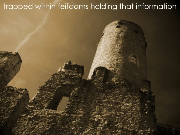 trapped within feifdoms holding that information