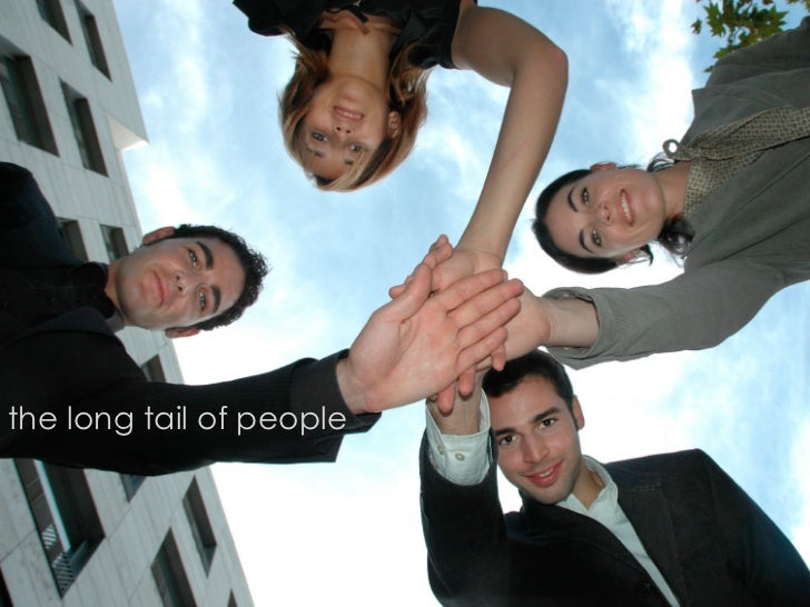the long tail of people