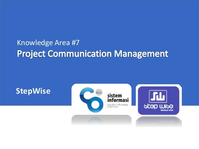 Knowledge Area #7 StepWise