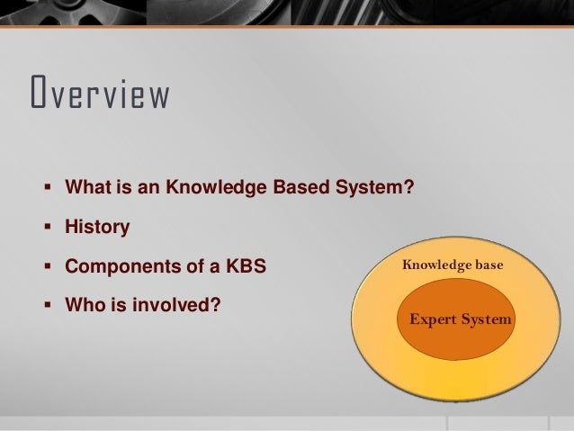 knowledge based system Knowledge-based systems is designed to develop an appreciation of kbs and their architecture and to help users understand a broad variety of knowledge based techniques for decision support and planning.