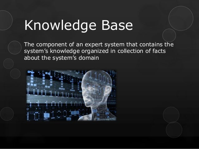 knowledge based system Knowledge-based systems is briefly described, and the features that make them  promising for planning purposes are introduced these features can be.