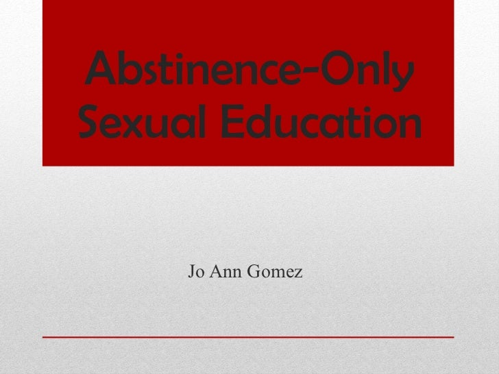 abstinence only sex education in Richardson
