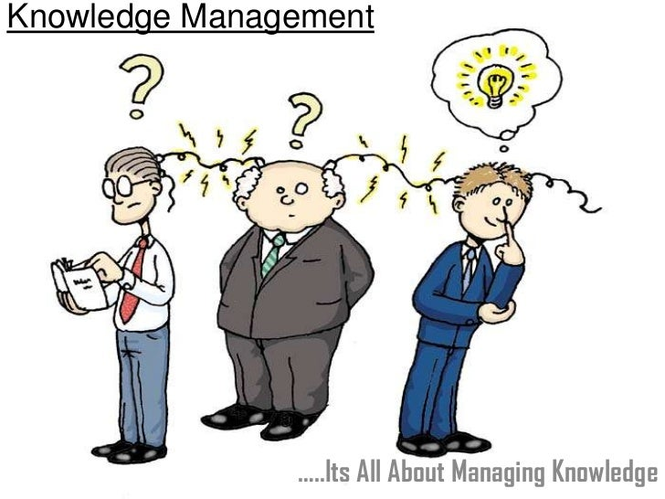 Knowledge Management               …..Its All About Managing Knowledge