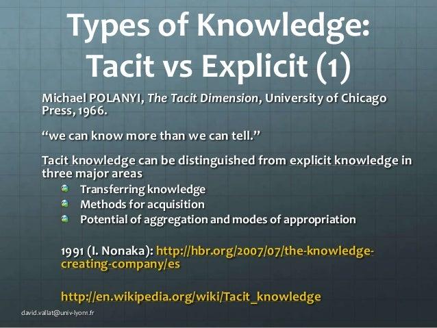 Knowledge Management 2 Basic Ideas
