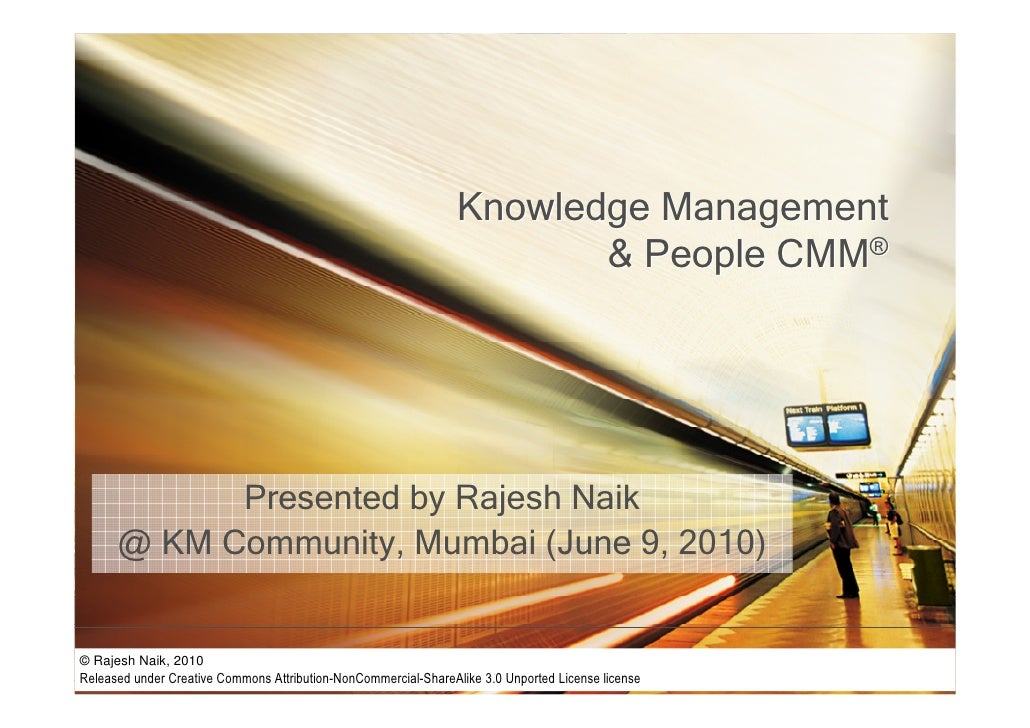 Knowledge management and people