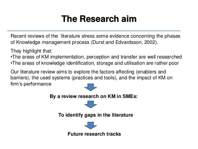 Future directions       The systematic review