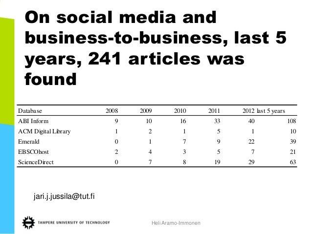 Social media management platform for B2B enterprise