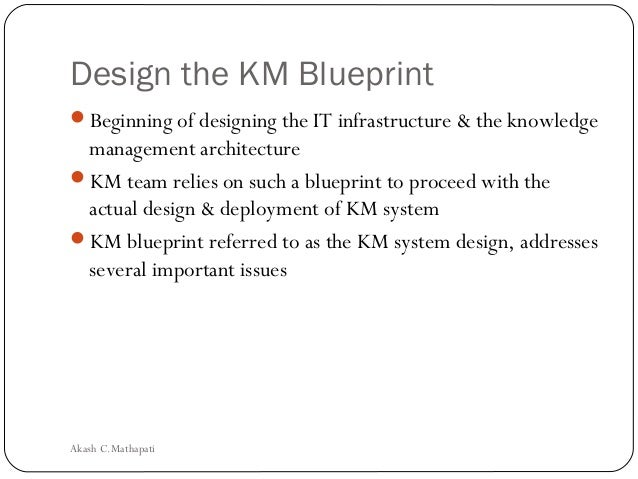 Knowledge management system life cycle design the km blueprintbeginning malvernweather Gallery
