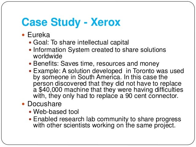 knowledge management case study with solution pdf