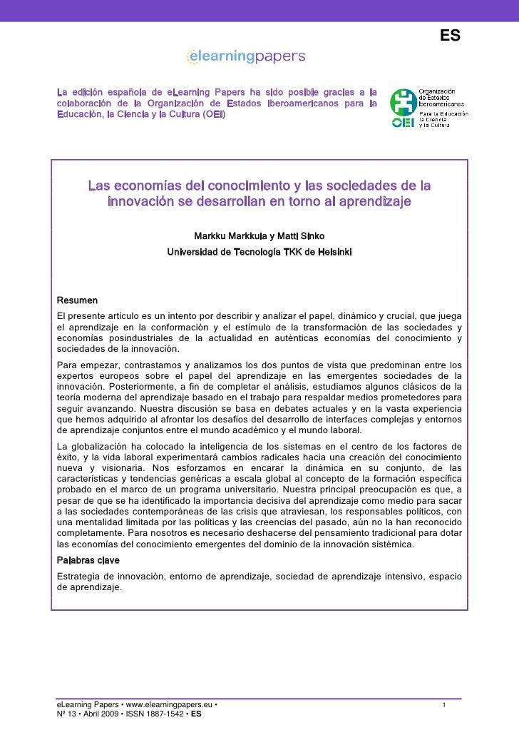 ES   La edición española de eLearning Papers ha sido posible gracias a la colaboración de la Organización de Estados Ibero...