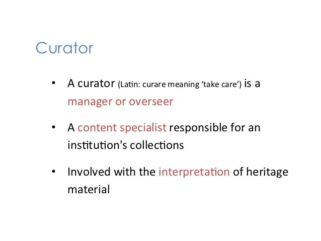 Knowledge Sommelier 101 - The Art of Curation in Education Slide 2