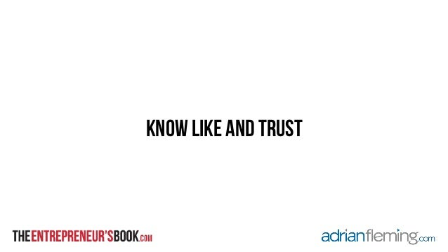 know like and trust