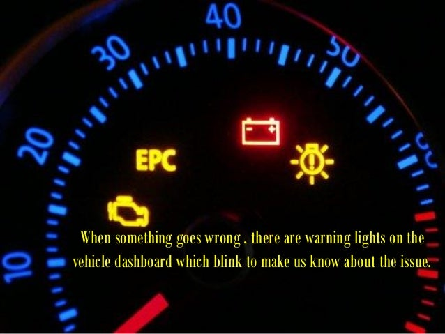 Car Dashboard Warning Lights             What Do They Mean?