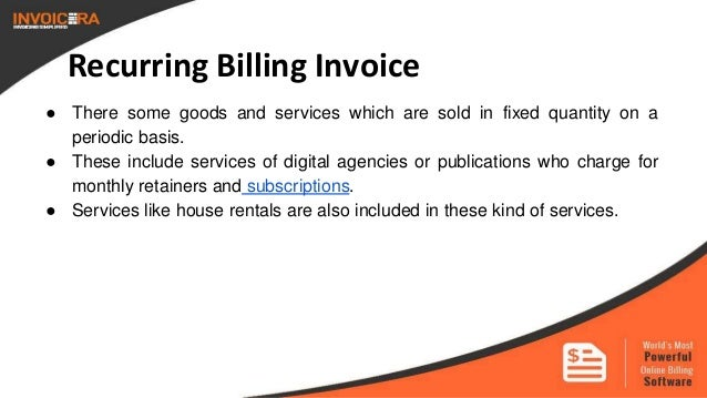 Know The Types Of Business Invoices - What's an invoice number for service business