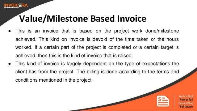 6 valuemilestone based invoice