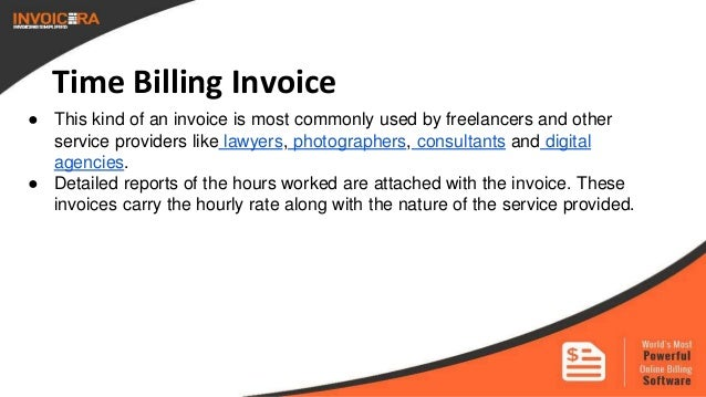 Know The Types Of Business Invoices - What are invoices in business for service business