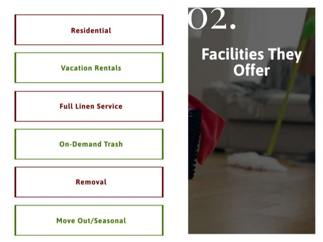 Know the details on cleaning service in summit county Slide 3