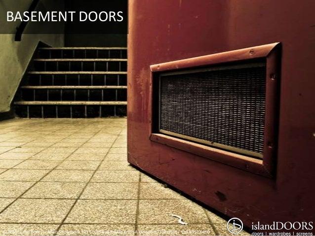 BASEMENT DOORS©2010 ...