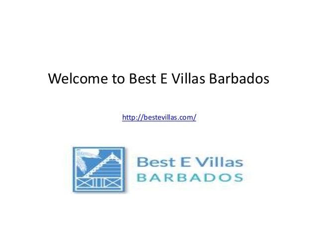 Welcome to Best E Villas Barbados http://bestevillas.com/