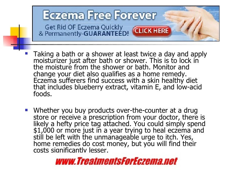 know why people choose home remedies for eczema