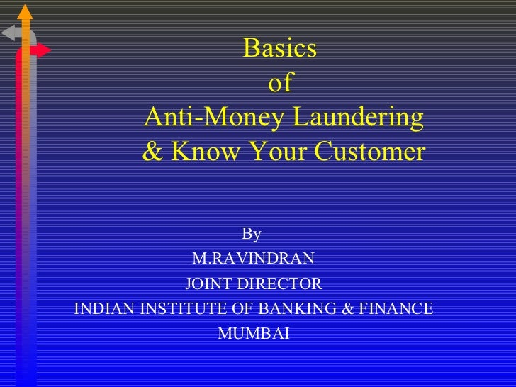 <ul><li>By  </li></ul><ul><li>M.RAVINDRAN </li></ul><ul><li>JOINT DIRECTOR </li></ul><ul><li>INDIAN INSTITUTE OF BANKING &...