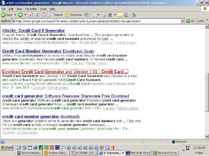 Credit Card Bin Generator
