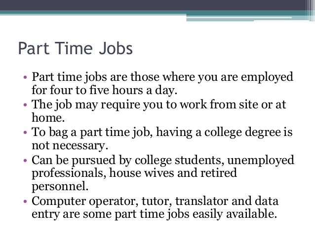 Best Job For You Full Part Time Work From Home Or Freelance