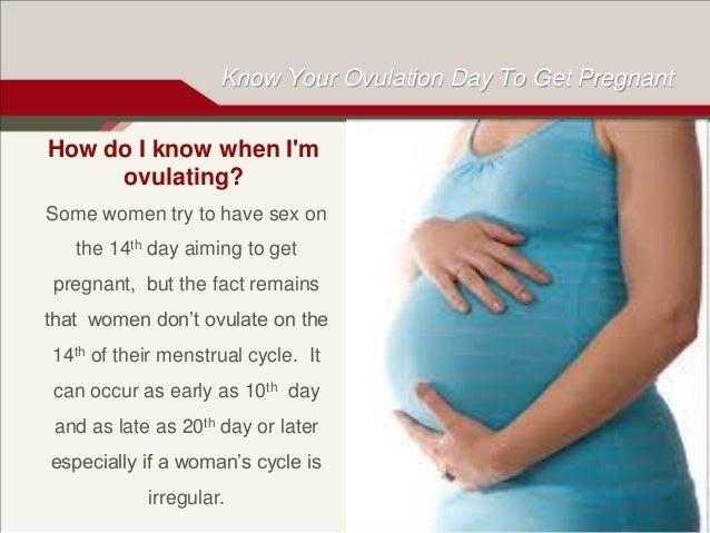 When to have sex when ovulating