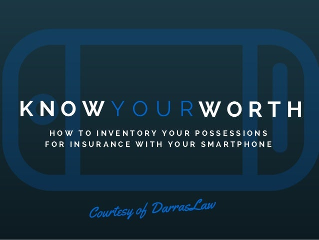 Know Your Worth: How To Do Inventory For An Insurance ...
