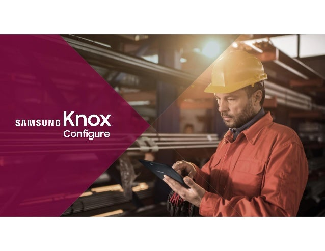 Comprehensive set of enterprise mobility solutions to address a variety of business needs on top of the secure Knox platfo...