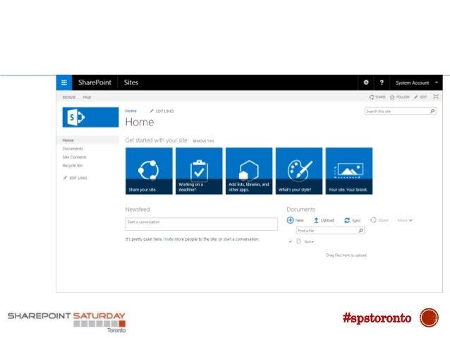 2016 SharePoint Server 2016 #spstoronto