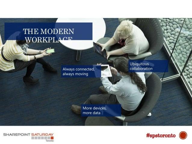 THE MODERN WORKPLACE #spstoronto