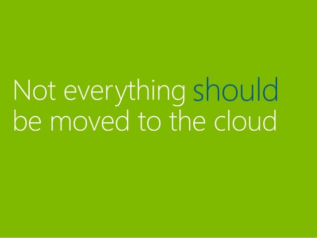 Is there risk in moving my data to the cloud?