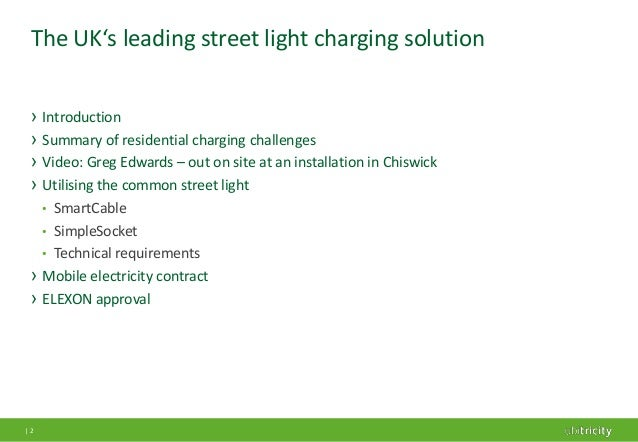 street light charging Electric vehicles face a challenge for urban adoption due to the difficulty of charging when you often have to park on city streets london is trying to address the.