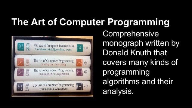 Donald Knuth Slide 3