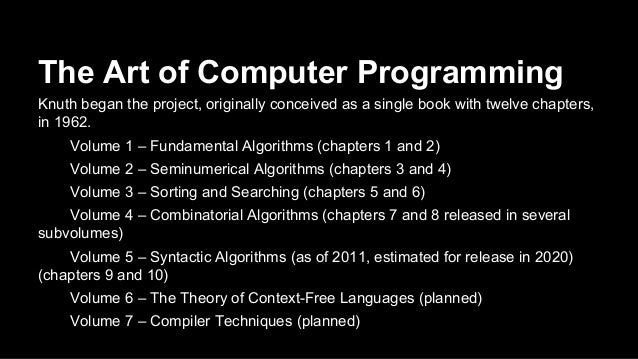 The Art of Computer Programming Volume 2 Seminumerical Algorithms