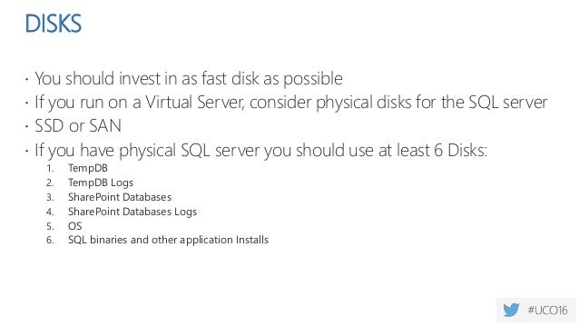 DISKS  SQL server reads and writes 64k at a time  So change your allocation size from the 4K default to 64K.  This smal...