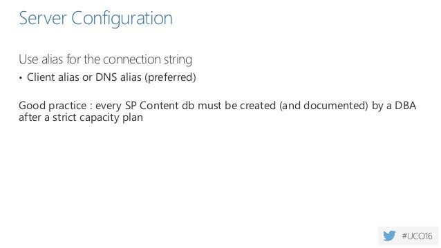 Auto Create Statistics  Do not enable auto-create statistics on a server that hosts SQL Server and SharePoint Server  En...