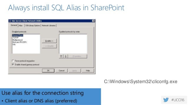 Unity Connect - Getting SQL Spinning with SharePoint - Best Practices for the Backend