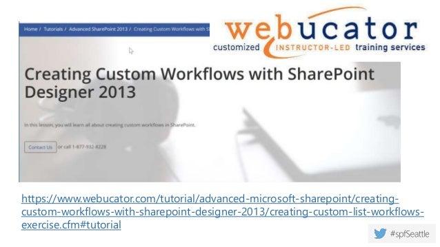 WF 101 - SharePoint Designer 2013 Workflows: An Introduction