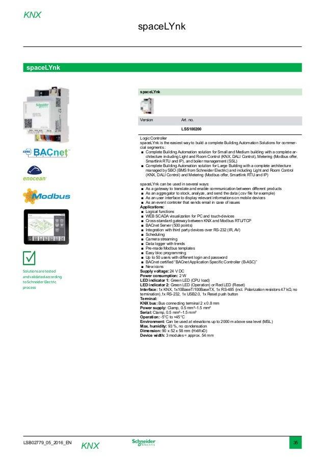 Knx Catalogue 05 2016 Web Domotica