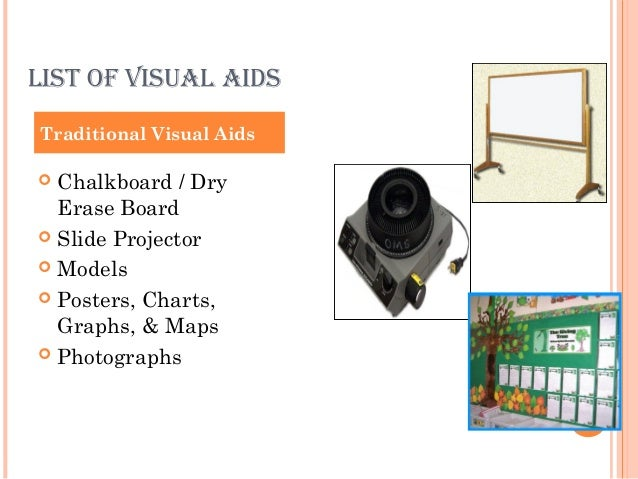 how to create visual aids