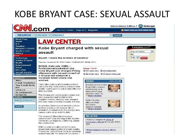 Kobe Bryant sexual assault case