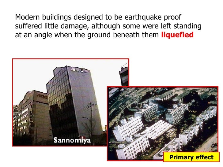 an analysis of the topic of the hanshin earthquake Kobe earthquake, and analyses the principal features of the strong ground   intended as a brief introduction to the subject (for the interested.