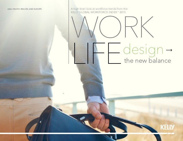 WORK LIFEdesign the new balance A high-level look at workforce trends from the KELLY GLOBAL WORKFORCE INDEXTM 2015 ASIA-PA...