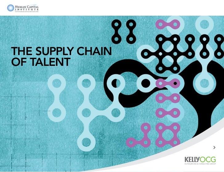 The Supply Chainof Talent