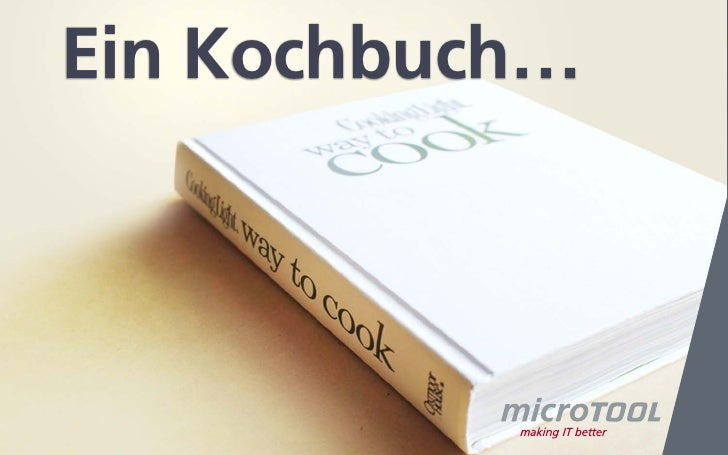 Ein Kochbuch…