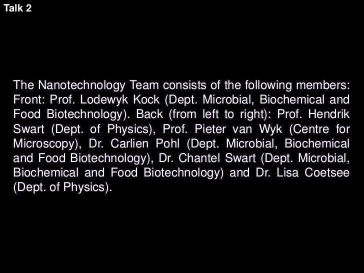 A new Nanotechnology for Translational Medicine Slide 3