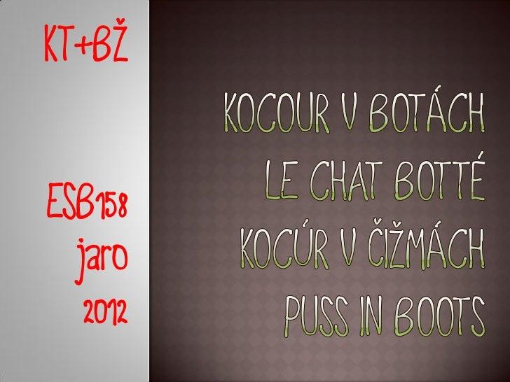 KT+BŽESB158  jaro   2012